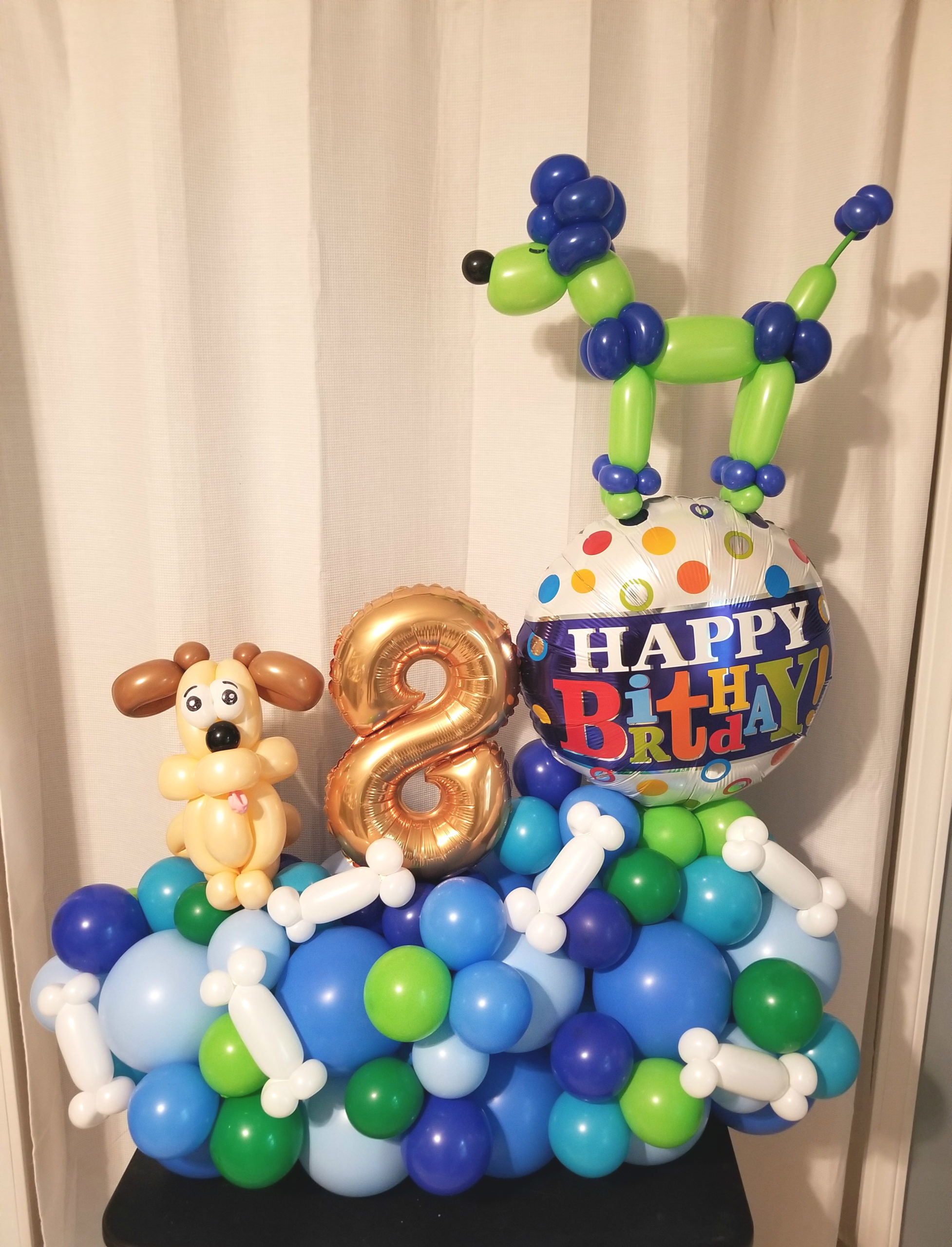 Dog Balloon Marquee